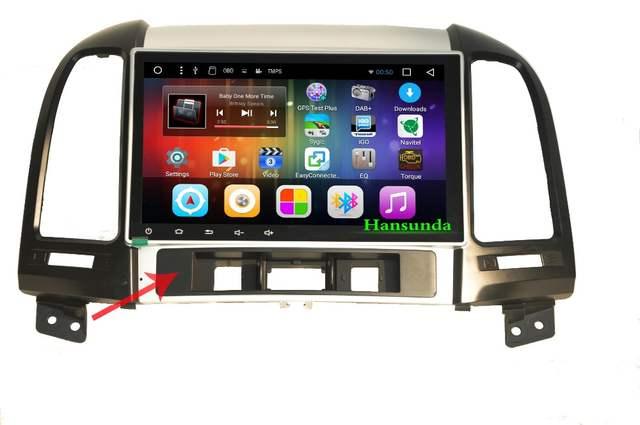 Big screen 9 inch Car multimedia radio gps navigation Android 8 1 system  for Hyundai Santa Fe (2nd generation)