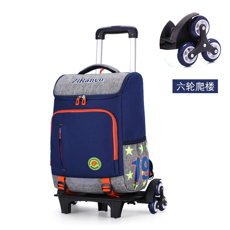 Children Trolley Backpack School Bags For Grils boys Wheeled Bag Student Detachable Rolling Backpacks kids travel bag MochilaChildren Trolley Backpack School Bags For Grils boys Wheeled Bag Student Detachable Rolling Backpacks kids travel bag Mochila