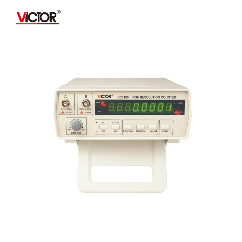 Victor VC3165 Frequency Meter Counter cymometer antenna analyzer radio New 100% original 0.01-2.4GHz RF Meter English panel 0 1 2 4ghz rf power meter frequency range 100 2400 mhz 65 0 dbm 1nw 1w