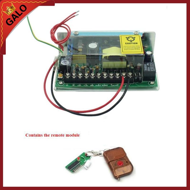 Output Access Control Transformer Power Supply Switch Power Supply For Access Control System 110 To 240V 50~60 Hz Input 12V5A