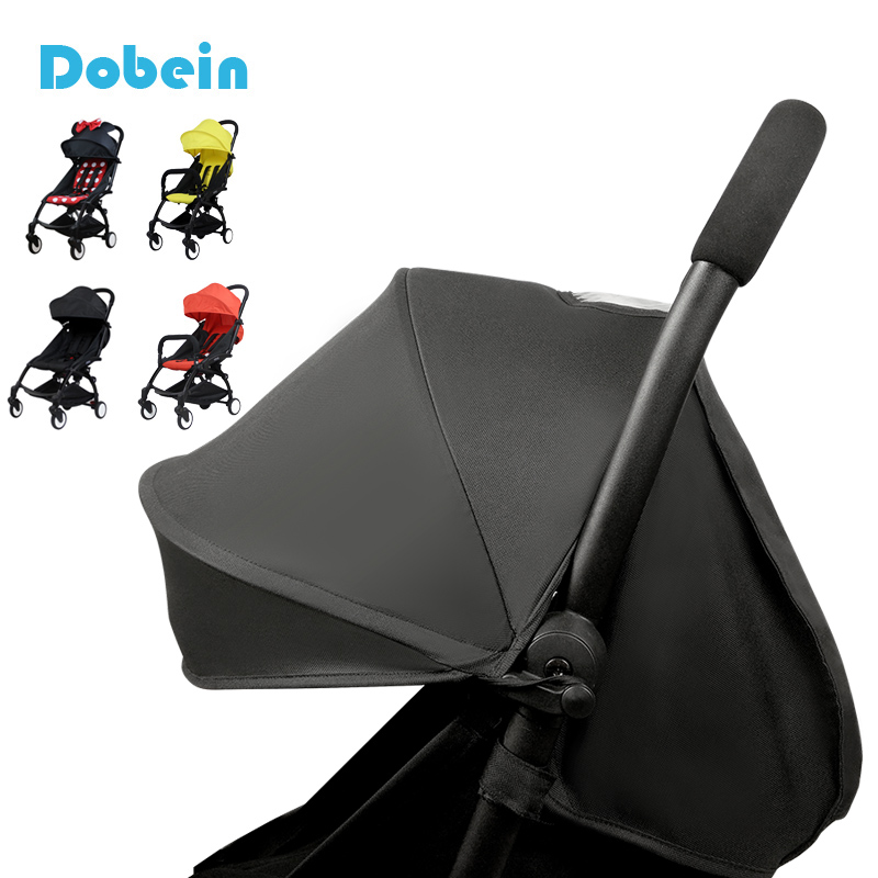Dobein Stroller Accessories for Baby Yoya Babyzen Yoyo Seat + Sun Shade Cover Pram Buggies Organizer Cushion Pad Sunshade Canopy
