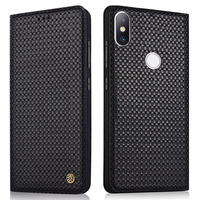 New for Xiaomi Mi 8 Case Mi8 SE Cover Flip Luxury Geniuine Cowhide Leather Soft Silicone TPU Capa Cases for Xiaomi Mi8 M8 SE