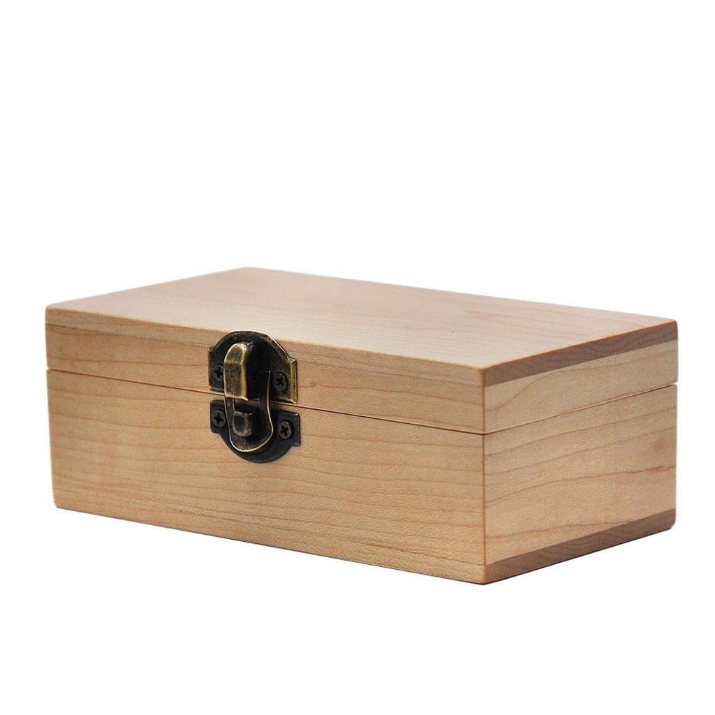 Wood Stash Boxes Maple Camphor Wood Rolling Paper Tray Case Storage Cigarette Case Stash Box Boite Cigarette Smoke Tool Box