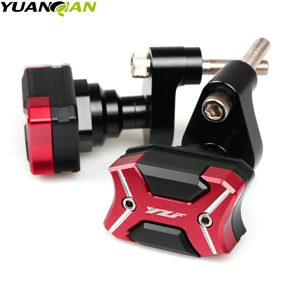 For YAMAHA YZF-R6 YZFR6 YZF R6 2009-2016 2015 Motorcycle Accessories CNC Body Frame Sliders Crash Protector Falling Protection