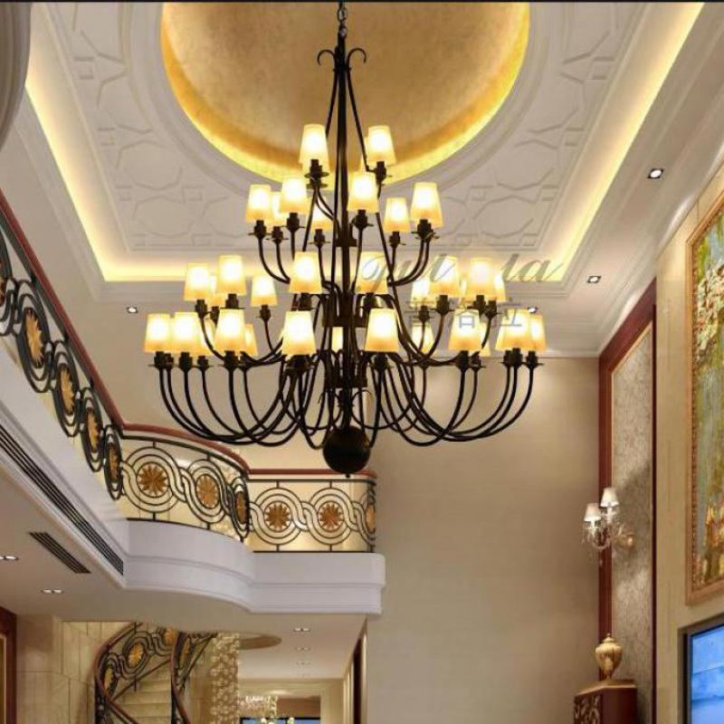 High Ceiling Chandelier Lighting For