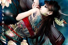 197968b0c4a5 Buy poster tattoo girls and get free shipping on AliExpress.com