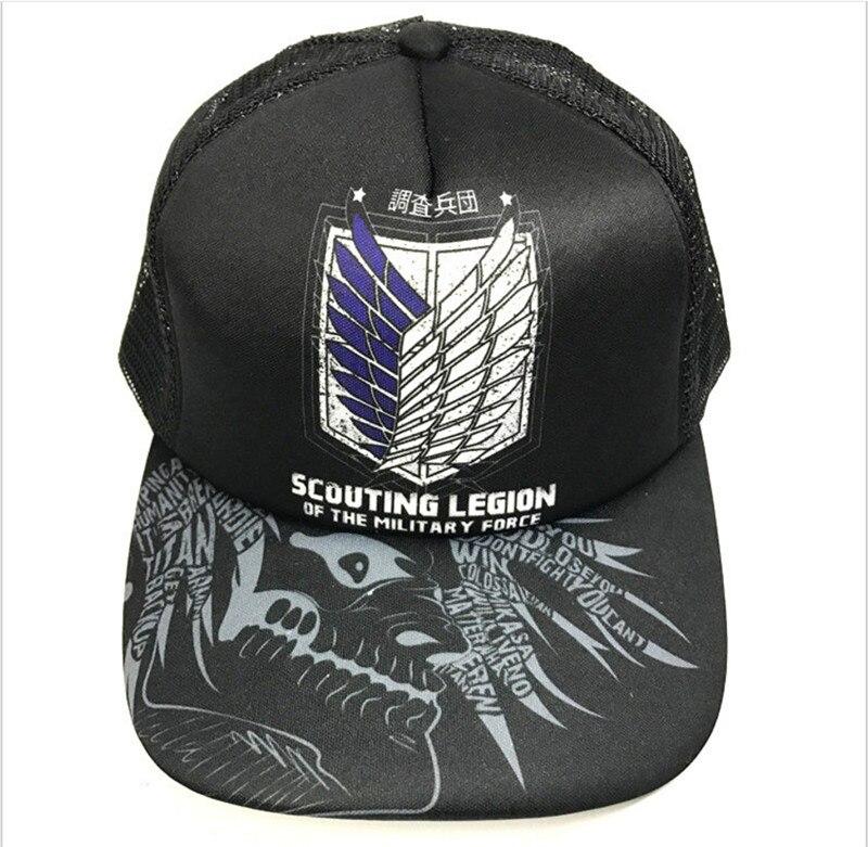 Compra attack on titan baseball cap y disfruta del envío gratuito en  AliExpress.com a85482076f9