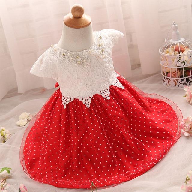 b5c7b4761 High Quality Toddler Baby Baptism Dress Christening Vestido For ...