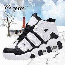 Ceyue Женская Баскетбольная обувь с воздушной подушкой, кроссовки с высоким берцем, спортивная обувь Senhora sapatos de basquetebol