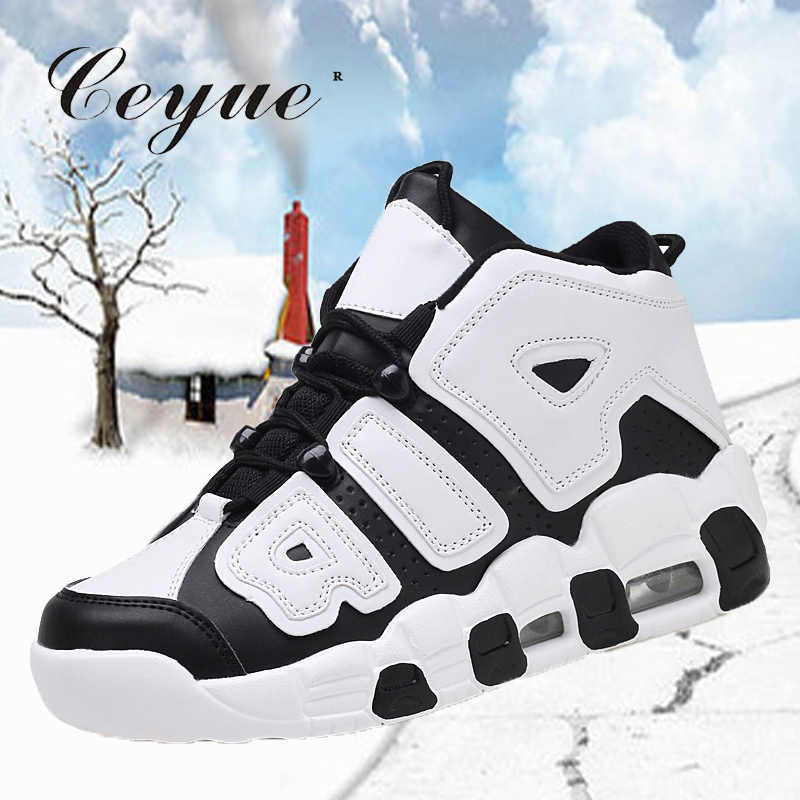 Ceyue 2019 Women Basketball Shoes Air Cushion Sneakers High top Basket Sports Shoes Senhora sapatos de basquetebol