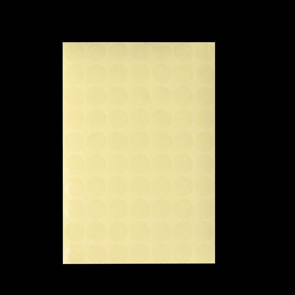 Полезные прозрачный круглый ПВХ с блеском прозрачные точечные запечатывания Стикеры самоклеющаяся этикетка из термочувствительной бумаги вафли уплотнение 16/48/96/140/192/264 шт Горячая