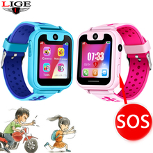 цены 2019 New Smart watch LBS Kid SmartWatches Baby Watch for Children SOS Call Location Finder Locator Tracker Anti Lost Monitor+Box
