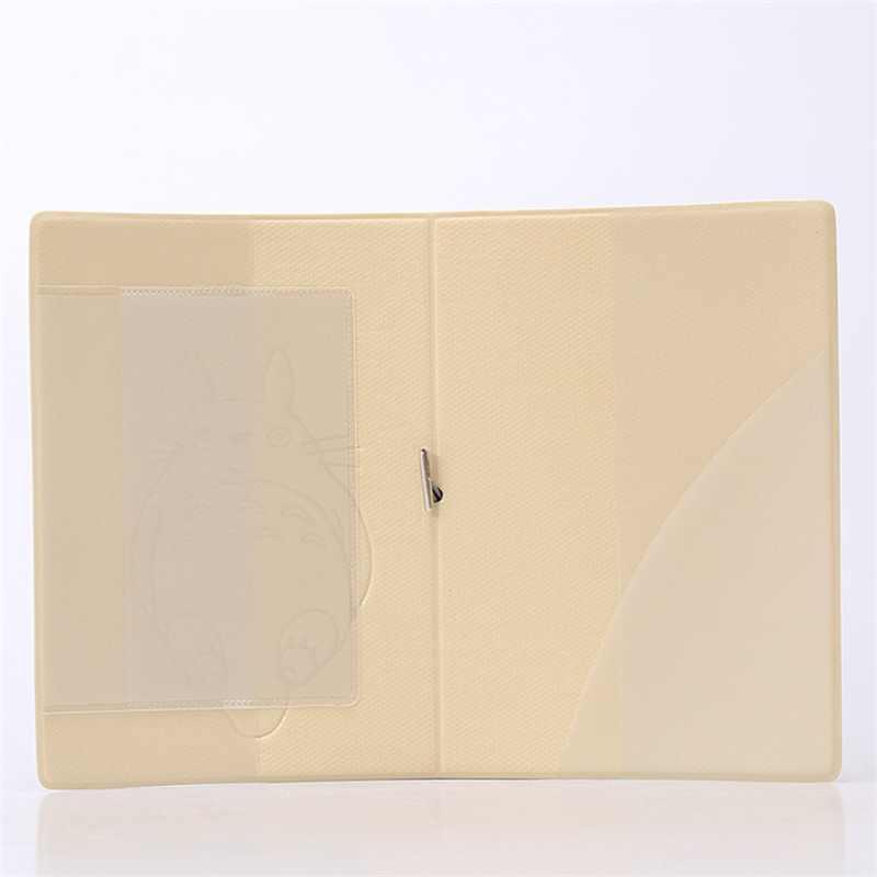 Мультфильм Тоторо 3D стерео путешествия Обложка для паспорта ПВХ держатель кредитной карты 14*9,6 см карты сумка выход для путешествий