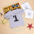 Baby T-shirts Unisex  Boy's Girl's Toddler's Kid's Classic Short Sleeved Round Neck 1/2/3/4/5 Printed T-Shirt Top Tee Outfits H1