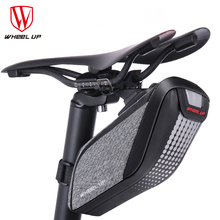 Wheelup Waterproof Bicycle Bag Bike Storage Bag Rear Seat Pouch Quakeproof Cycling Saddle Seatpost Tail Reflective Bag