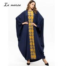 7722c380bfd Abaya Robes Musulman Maxi Robe Turquie Arabe Kaftan Dubaï Soirée Parti  Musulman Modeste Islamique Robe