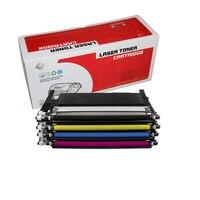 1PK 4 colors Toner Cartridge CLT 406S CLT K406S CLT M406S C406S 406 For samsung 3305W 3306FN CLP 360 365 365W 366W CLX 3305