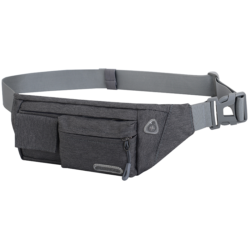 Men Women Waist Bag Outdoor Sports Multi-Function Waterproof Pockets Chest Bag