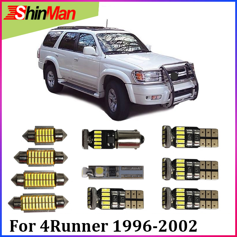 ShinMan 9x Error Free Trunk light LED CAR Light Car LED Interior Car lighting For <font><b>Toyota</b></font> <font><b>4Runner</b></font> LED Interior Light 1996-<font><b>2002</b></font> image