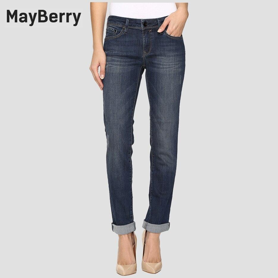 Mayberry Jeans Womens Jeans Slim Boyfriend Straight Leg -7484