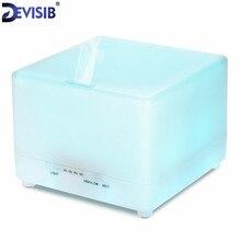 Devisib Эфирные масла диффузор 700 мл увлажнитель воздуха аромалампу Ароматерапия Электрический ультразвуковой аромат диффузор тумана