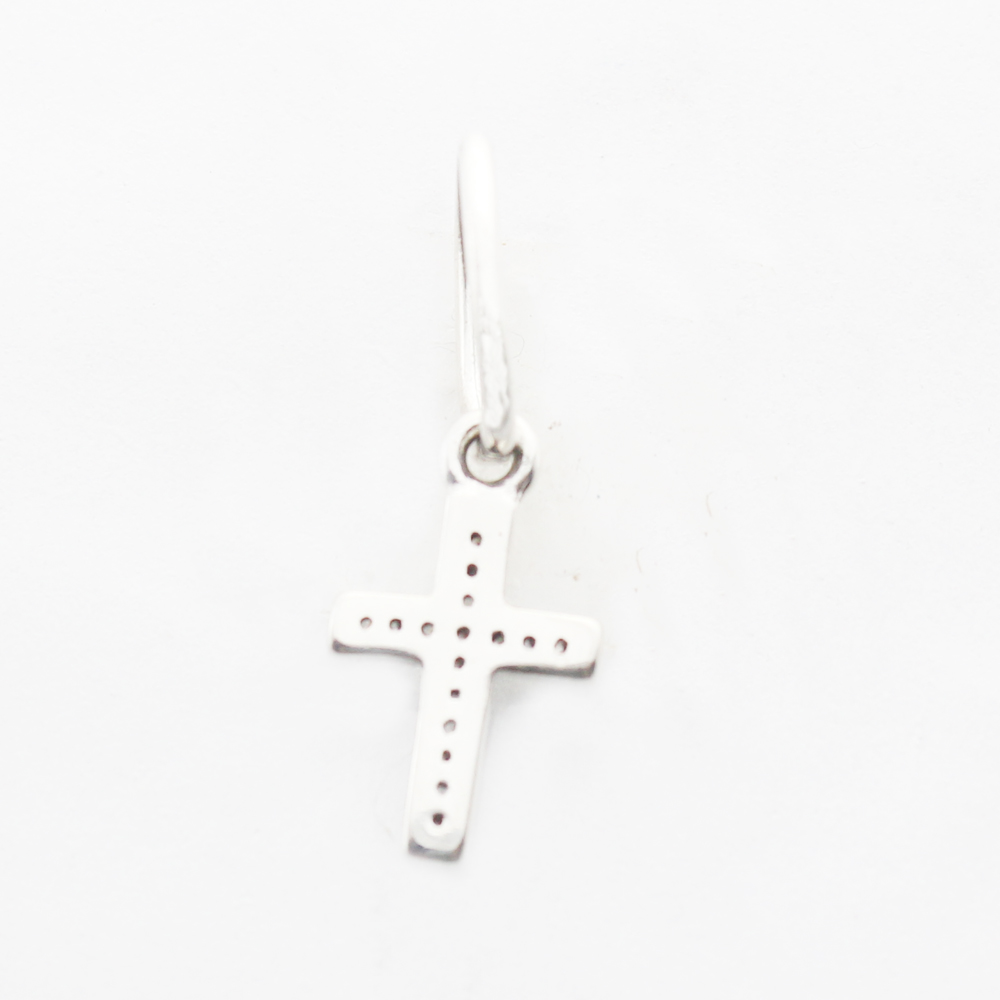 925 sterling silver crosses beads symbol of faith with clear cz 925 sterling silver crosses beads symbol of faith with clear cz dangle charm fits pandora charms bracelets diy jewelry making in beads from jewelry biocorpaavc Images