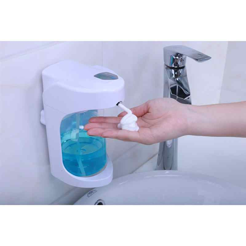 Auto Seife Dispenser Automatische Seife Spender Touchless Sensor Schaum Spender Wand Montiert Manuelle Büro Badezimmer Home Küche