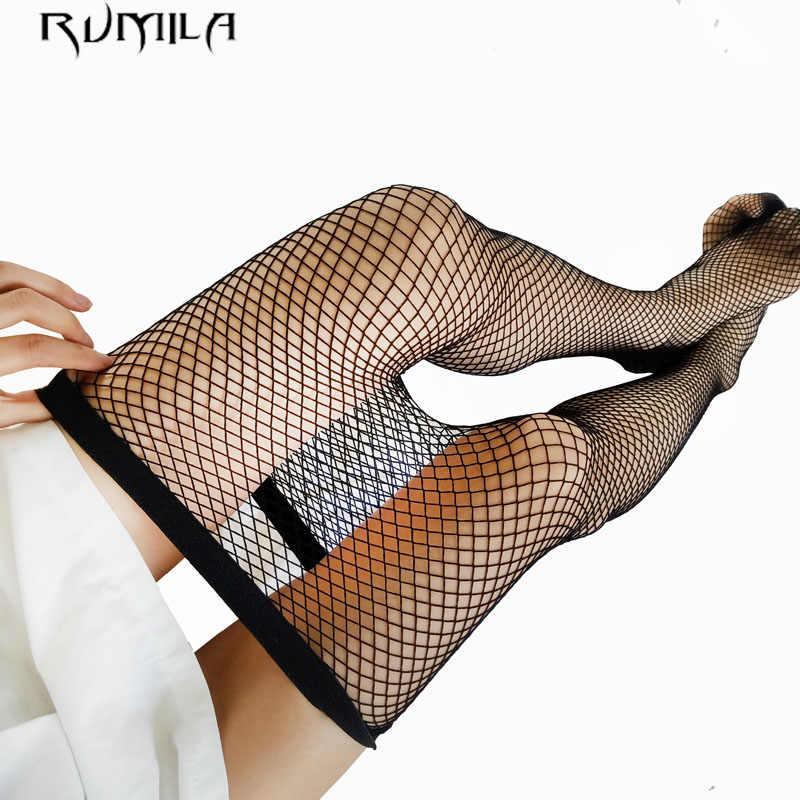 黒ミディアムグリッドセクシーな女性ハイウエストストッキング網タイツクラブタイツパンティニットネットストッキングズボンメッシュランジェリー TT016