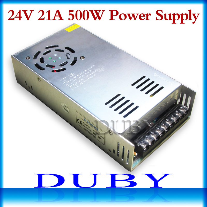 20Pcs/lot New model 24V 20A 480W Switching power supply Driver For LED Light Strip Display AC100-240V  Factory Supplier ac 85v 265v to 20 38v 600ma power supply driver adapter for led light lamp