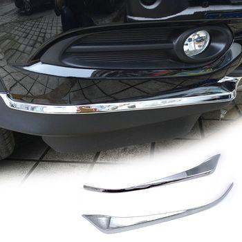 BBQ @ FUKA 2 шт. ABS для Honda HR-V HRV 2014-2018 хромированный передний бампер угловая крышка отделка украшение протектор декоративные аксессуары