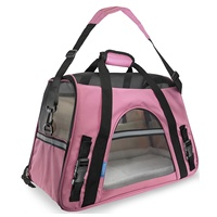 Pet Carrier Case Travel Tote Shoulder Bag Pet Dog Portable Home Bed Crate Cage Mini Puppy