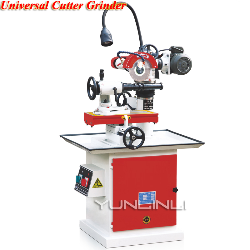 Universal Cutter Grinder 380V 3780r/min Drill Sharpener Sharpening Machine For End Mill Twist Drill Cutter Planer Tool MF2718D