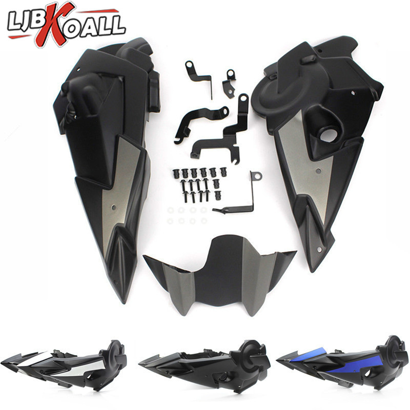 ABS Bellypan Engine Spoiler Fairing with Mounting Kit for Yamaha FZ-07 MT-07 FZ07 MT07 MT FZ 07 2014 2015 2016 2017 2018 2019ABS Bellypan Engine Spoiler Fairing with Mounting Kit for Yamaha FZ-07 MT-07 FZ07 MT07 MT FZ 07 2014 2015 2016 2017 2018 2019