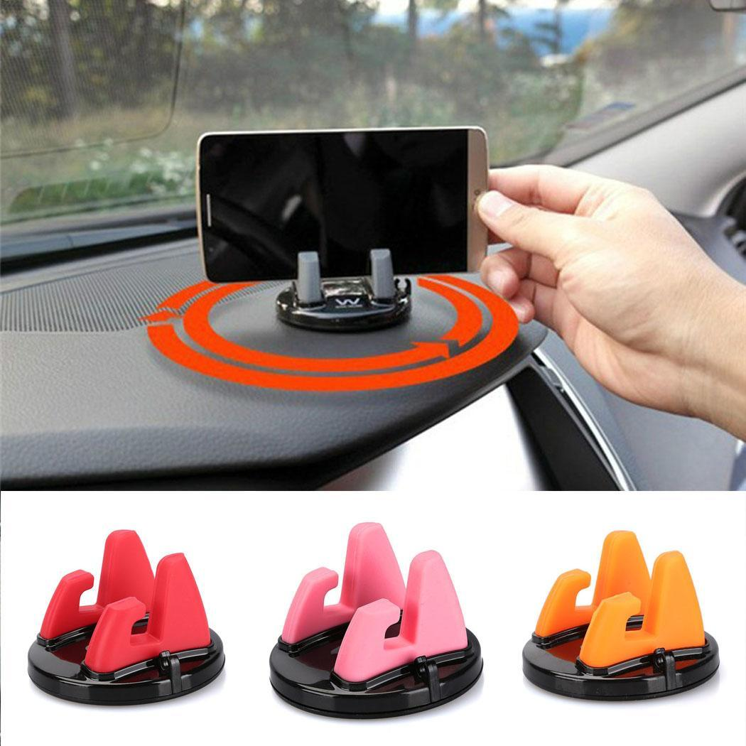 Phone Stand and Holder For iPhone Desk&Car Phone Holder Universal Silicone Mobile Phone Stand For Samsung Xiaomi Cellphone