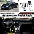 Acelerador Del coche Pedal Pad/Cubierta de Fábrica Modelo de Diseño/taladro Tipo de Instalación Para MB Mercedes Benz Clase SLK R171 2004 ~ 2010 EN