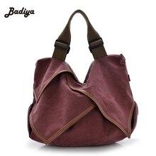 2016 new fashion women canvas handbag single shoulder women messenger bags canvas shoulder bag lotus leaf vintage canvas bag