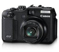 Used,Canon G12 10 MP Digital Camera with 5x Optical Image Stabilized Zoom and 2.8 Inch Vari Angle LCD