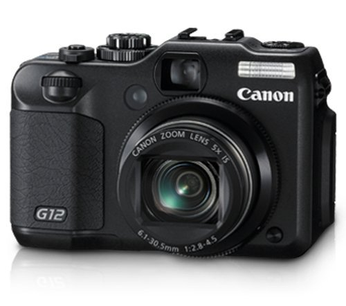 Used,Canon G12 10 MP Digital Camera with 5x Optical Image Stabilized Zoom and 2.8 Inch Vari-Angle LCD image