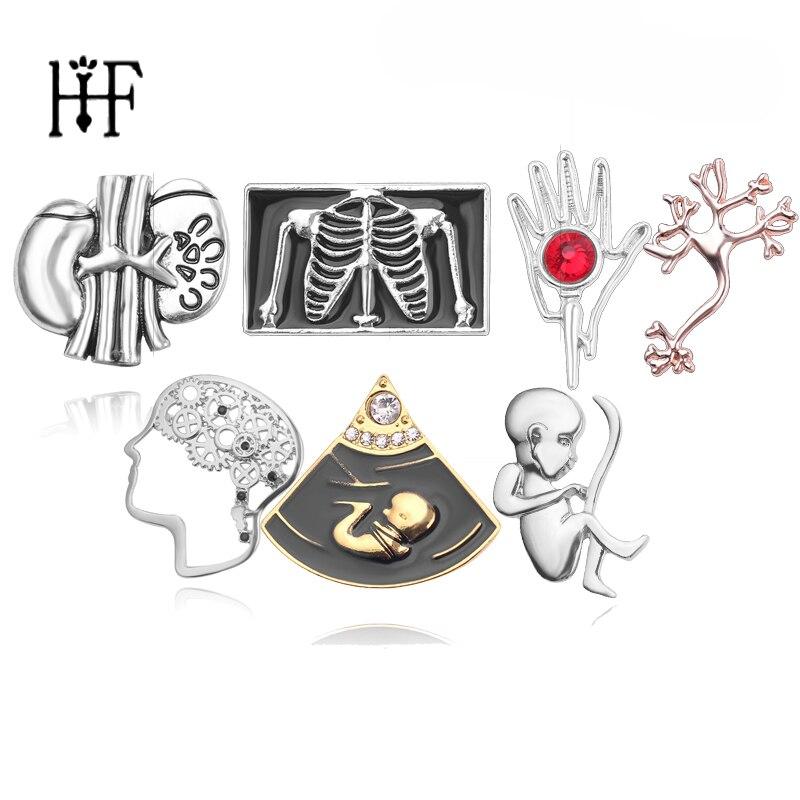 Emalia serce kształt szpilki broszka Pin neurolog miska strzykawki noworodka nakrycie głowy nerka klatka piersiowa broszka Pin kobiety Broche