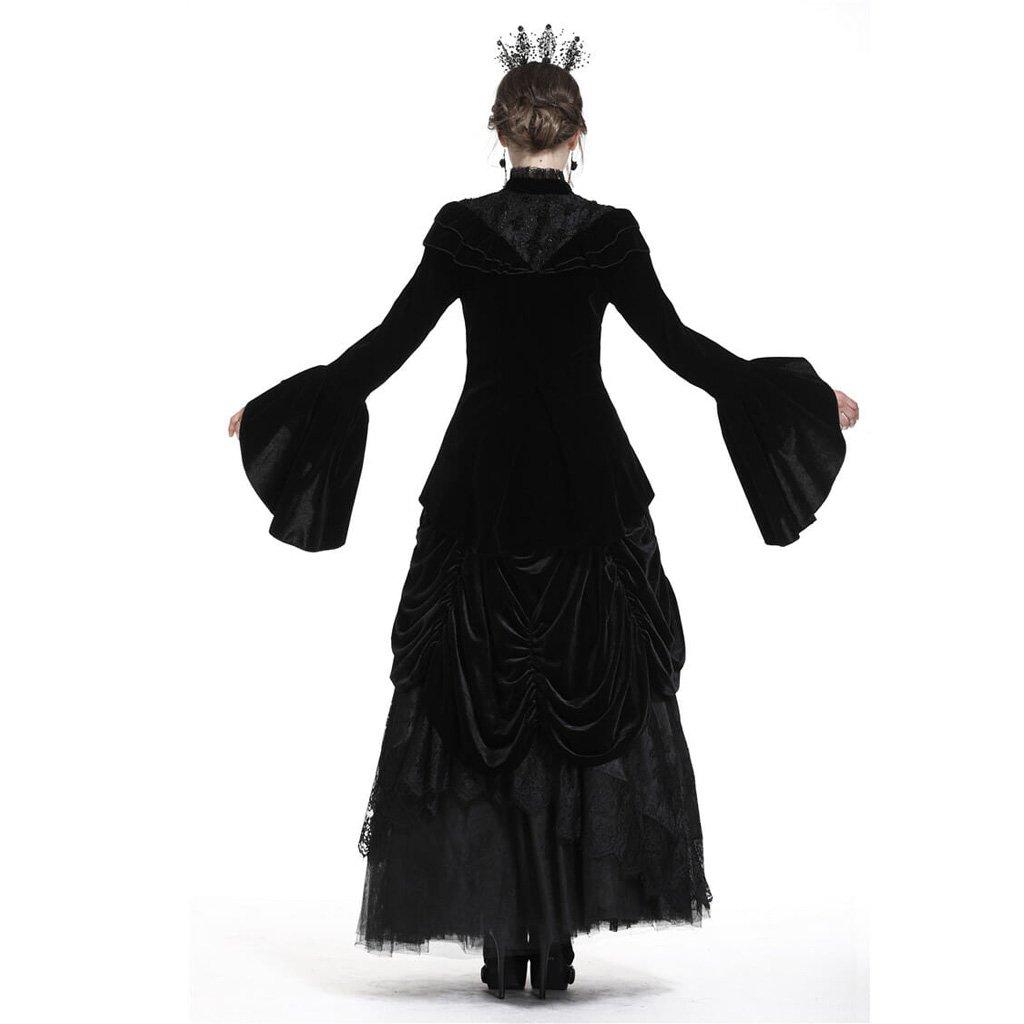 Court Velours Femmes Darkinlove Veste Vintage Goth Jw177 De SHqnIWqwUE
