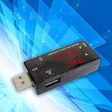 USB Voltage Tester Current Meters Charger Doctor Detector Battery Capacity Voltmeter Ammeter