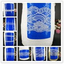 Новинка! Белый 10 метров Красивая Кружево Лента костюм Свадебные украшения DIY Craft Интимные аксессуары