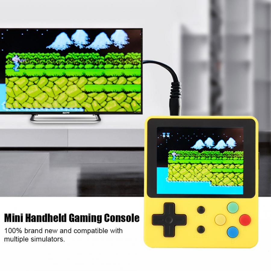 "2.6"" Mini Handheld Game Console Compatible with for GBA/for GB/FC/NEOGEO/CPS/for PS1/ATARI"