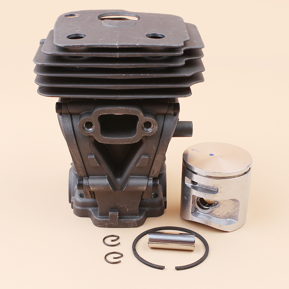 44mm Cylinder Piston Kit Fit HUSQVARNA 445 445e 450 450e Jonsered CS2250 CS2245 S Chainsaw Engine Motor Parts 44mm cylinder piston ring pin kit for husqvarna 445 445e 450 450e chainsaw 544 11 98 02 nikasil plated replacement parts