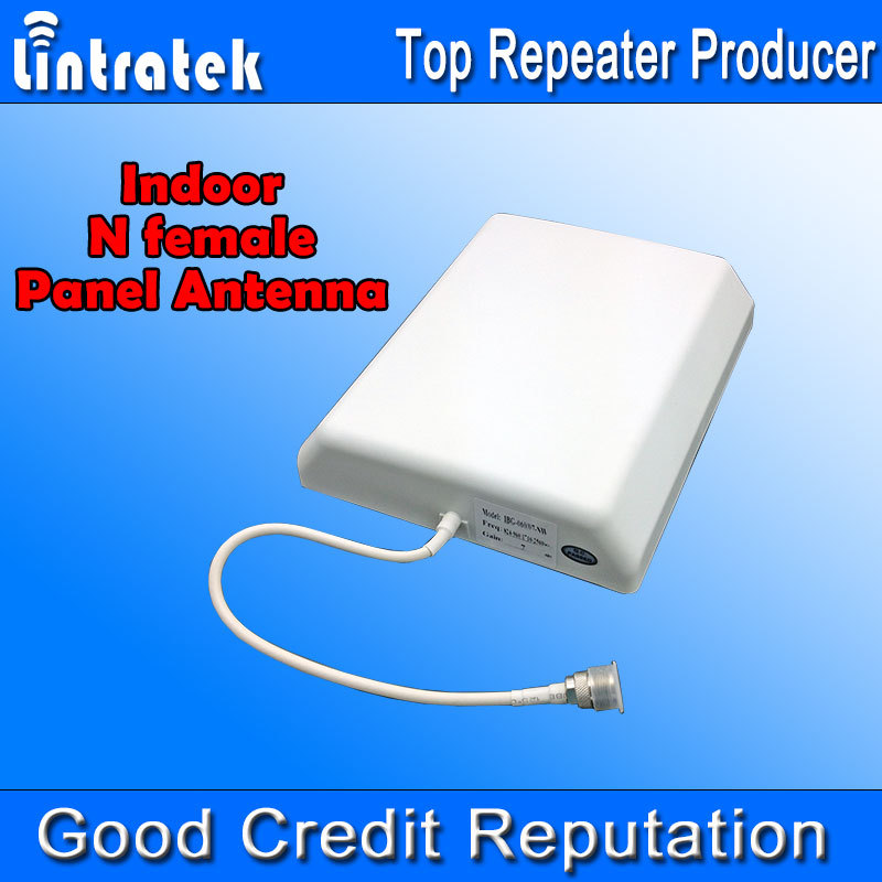 Wholesale! 700-2700MHz Indoor Panel Antenna 8dbi N Female Cell Phone Booster Antenna for Mobile Phones Signal Internal Antenna *