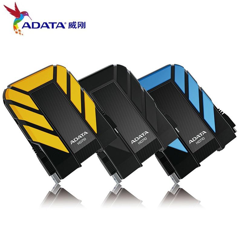 Boîtier externe HDD 1 to 2 to HD710 Pro USB3.1 2.5 pouces disque dur Portable standard militaire antichoc IEC anti-poussière