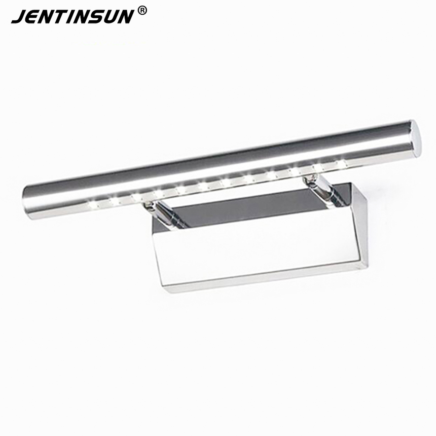3W 25cm Bathroom LED Mirror Light AC85 265V SMD5050 Cold White Modern Indoor Wall Lamps Lighting