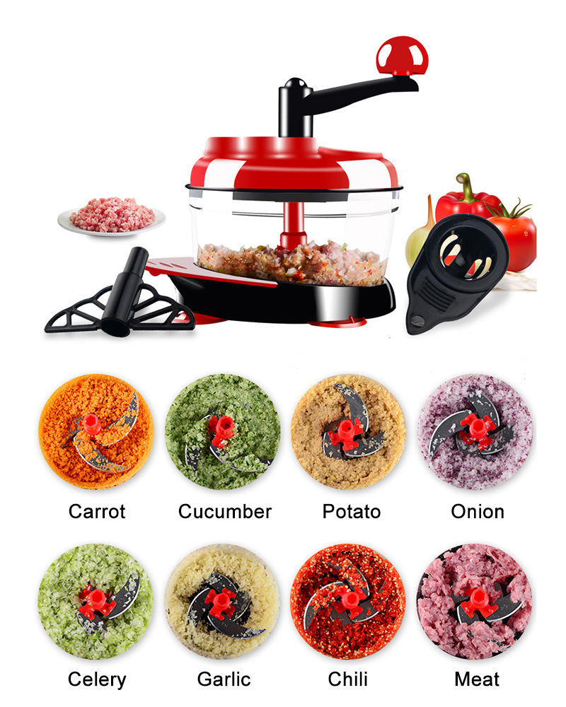 1meat and vegetable cutter