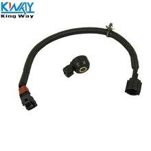 """King Way-Датчик детонации двигателя и 1"""" жгут проводов для Infiniti Nissan 2206030P00 KS79 22060-30P00"""