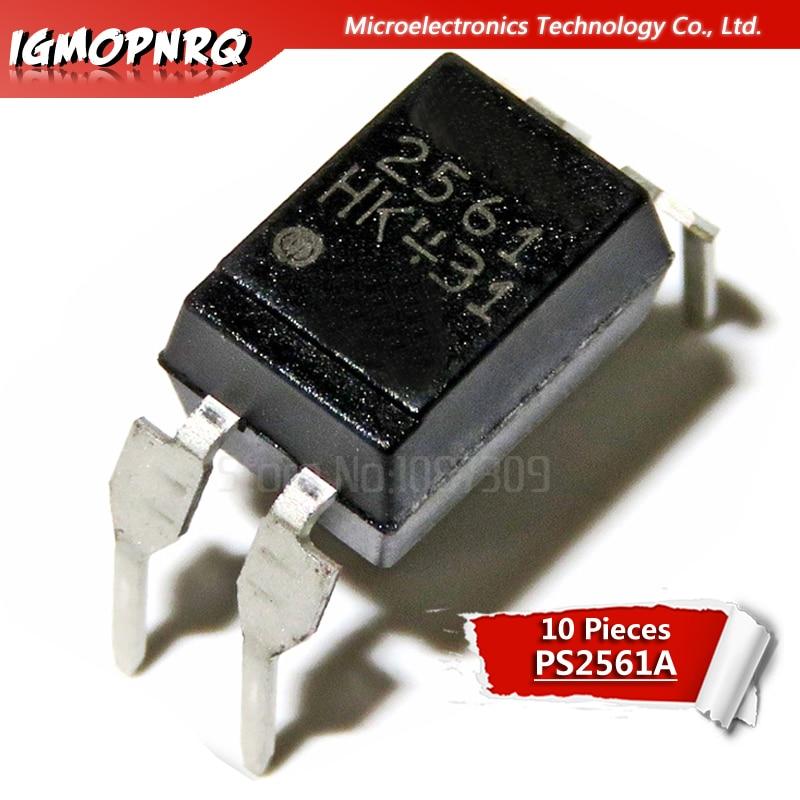 10PCS DIP Optocoupler PS2561  2561 PS2561-1 DIP4 Original Authentic